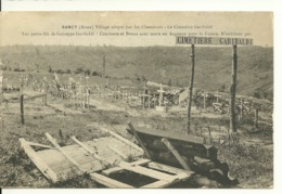 02 - SANCY / VILLAGE ADOPTE PAR LES CHEMINOTS - LE CIMETIERE GARIBALDI - Other Municipalities