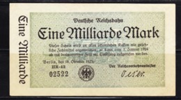 BANKNOTES-GERMANY-1.000.000.000-MARK-SEE-SCAN-CIRCULATED - 1 Milliarde Mark