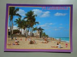 ETATS UNIS FL FLORIDA BEAUTIFUL FORT LAUDERDALE BEACH - Fort Lauderdale