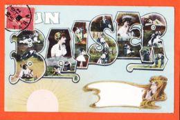 JEU115 Style Art-Déco UN BAISER 1906 àProsper TRUQUET Vielmur - Autres