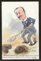 CPA Bobb Satirique Caricature Non Circulé Dessin Original Fait Main Politique Poincaré - Satirical