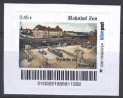 Biber Post Verkehr In Altberlin Bahnhof Zoo (45) G917 - Privé- & Lokale Post