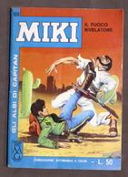 Fumetti - Gli Albi Di Capitan Miki - N. 168 - 1965 - Il Fuoco Rivelatore - Boeken, Tijdschriften, Stripverhalen