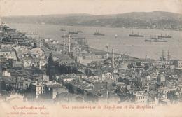 CONSTANTINOPLE - N° 10 - VUE PANORAMIQUE DE TOP-HANE ET DU BOSPHORE - Turquie