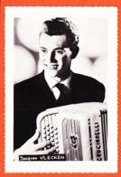 JEU089 Autographe-Dédicace Jacques VLECKEN 1960s Accordéoniste Accordéon CRUCIANELLI - Sänger Und Musikanten