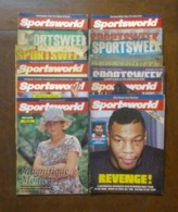 OLD SPORTSWORLD AND SPORTSWEEK MAGAZINE LOT 1980's LOOK !! - Sports