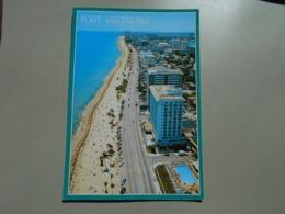 ETATS UNIS FL FLORIDA FORT LAUDERDALE BEAUTIFUL VIEW LOOKING DOWN ATLANTIC BOULEVARD..... - Fort Lauderdale