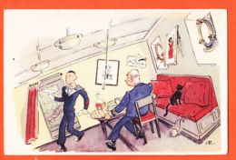 JEU055 Métier Un BON MAITRE HOTEL Doit Avoir Beaucoup De Qualités En Particulier Pied MARIN 1940s MOULLOT Humour MARIN - Mestieri