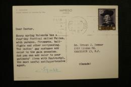 Espagne CP Publicité Squibb (idem Ionyl En + Rare) 1962 - Factories & Industries