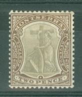 Montserrat: 1904/08   Device Of The Colony   SG26a   2d     MH - Montserrat