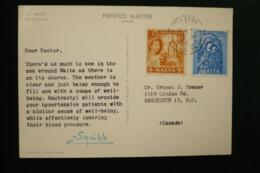 Malte CP Publicité Squibb (idem Ionyl En + Rare) 1962 Dear Doctor - Factories & Industries