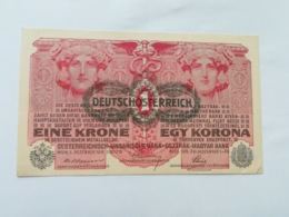 AUSTRIA 1 KRONE 1916 - Austria