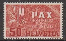Switzerland 1945 Pax 50c ** Mnh (44884A) - Switzerland
