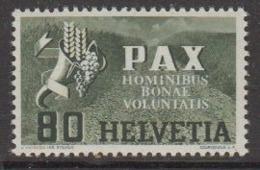 Switzerland 1945 Pax 80c ** Mnh (44884B) - Switzerland
