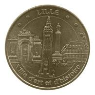 Monnaie De Paris , 2012 , Lille , Ville D'art Et D'histoire , 4 Monuments - Monnaie De Paris