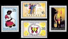 VANUATU 1981 - Yv. 635 636 637 638 ** TB  Cote= 4,75 EUR - Dessins D'élèves (4 Val.)  ..Réf.AFA23282 - Vanuatu (1980-...)