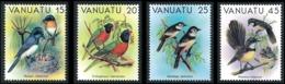 VANUATU 1982 - Yv. 639 640 641 642 ** TB  Cote= 7,25 EUR - Série Oiseaux II (4 Val.)  ..Réf.AFA23284 - Vanuatu (1980-...)