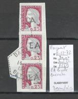 Algerie -EA - Fragment Avec La Surcharge Locale  De Barracha - Departement De Sétif - Indice 21 - Algeria (1924-1962)