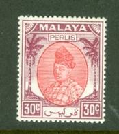 Malaya - Perlis: 1951/55   Raja Syed Putra   SG21   30c     MH - Perlis