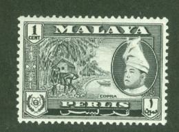 Malaya - Perlis: 1957/62   Raja Syed Putra - Pictorial  SG29   1c    MH - Perlis