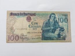 PORTOGALLO 100 ESCUDOS ORO 1984 - Portogallo