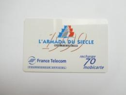 Télécarte , Mobicarte , MBC24 , Armada ( Télécarte Nickel : Reflet Du à La Photo ) - Frankrijk