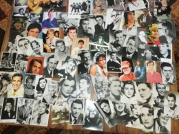 Lots 84 Cartes Postales Acteurs Chanteurs - Artistas