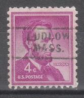 USA Precancel Vorausentwertung Preo, Locals Massachusetts, Ludlow 729 - United States
