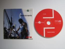 CD PUBLICITAIRE CHANTS DE MARINS COOP BREIZH OUEST FRANCE - Andere