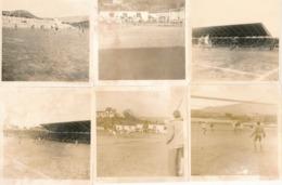 Corse Lot De 6 Photographies Ancienne Football  Photo Tomasi Année 60 - Ajaccio