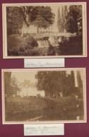 031019A - 2 PHOTOS - 78 SAINT FORGET Château De Mauvières Duchesse De Lesparre 1878 - Autres Communes