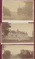 031019B - 3 PHOTOS - 78 SONCHAMP Château De Pinceloup Vues Extérieures 1876 - Other Municipalities