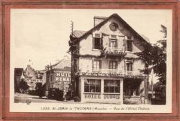 CPA - SAINT-JEAN-le-THOMAS (50) - Aspect De L'Hôtel Dubois Le Jour Du Concours De Tir Dans Les Années 30 - Other Municipalities