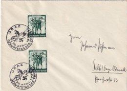 ALLEMAGNE 1938 LETTRE DE GRAZ - Briefe U. Dokumente