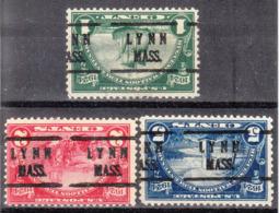 USA Precancel Vorausentwertung Preo, Locals Massachusetts, Lynn 614 - 616-224, Better Stamps - Vereinigte Staaten