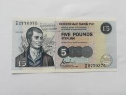SCOTLAND 5 POUNDS 1996 - Scozia