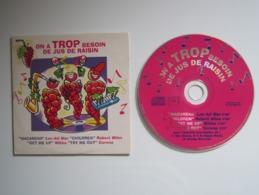 CD PROMO ON A TROP BESOIN DE JUS DE RAISIN - Compilations