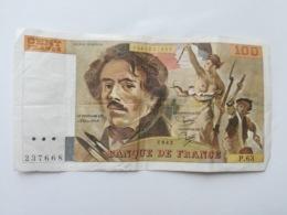 FRANCIA 100 FRANCS 1982 - 100 F 1978-1995 ''Delacroix''