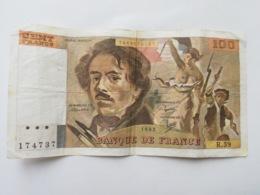 FRANCIA 100 FRANCS 1982 - 1962-1997 ''Francs''