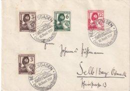 ALLEMAGNE 1937 LETTRE DE BERCHTESGADEN - Briefe U. Dokumente