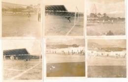 Corse Lot De 9 Photographies Ancienne Football  Photo Tomasi Année 60 - Ajaccio