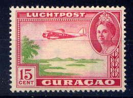 CURACAO - A26* - REINE WILHELMINE / AVION - Curazao, Antillas Holandesas, Aruba