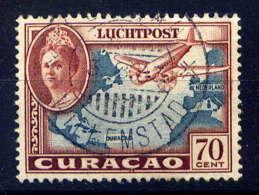 CURACAO - A35° - REINE WILHELMINE / AVION - Curazao, Antillas Holandesas, Aruba