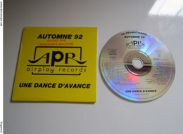 CD AUTOMNE 1992 APR AIRPLAY RECORDS UNE DANCE D'AVANCE - POLYGRAM - Compilations
