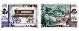 Ref. 85716 * MNH * - SPAIN. 1981. POSTAL AND TELECOMMUNICATIONS MUSEUM . MUSEO POSTAL Y DE TELECOMUNICACIONES - Eisenbahnen