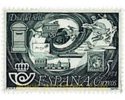 Ref. 85012 * MNH * - SPAIN. 1978. STAMP DAY . DIA DEL SELLO - Treni