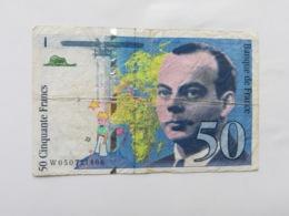 FRANCIA 50 FRANCS 1999 - 1992-2000 Ultima Gama