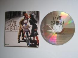CD PROMO PUBLICITAIRE Canal + LA VIE EST BELLE Musique De Nicola Piovani - Filmmusik