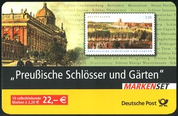 59I MH Preußische Schlösser, Rund, Versandstellenstempel  Weiden 3.11.2005 - BRD