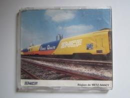 RARE CD SNCF 1992 Région De METZ-NANCY ESPACE QUALITÉ 1) ROCK AND RAIL 2) CA DECOIFFE A LA SNCF - Filmmusik
